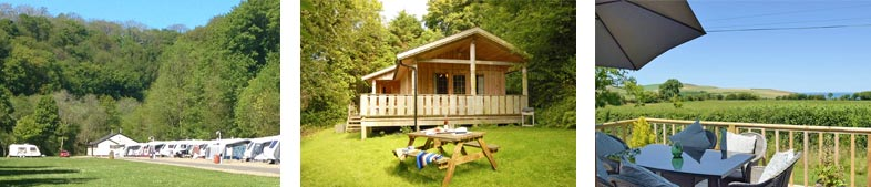 Camping and Glamping Accommodation in and around Newport