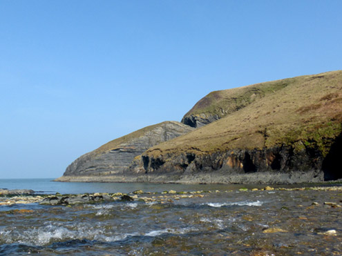 The Small Pebble Beach at Ceibwr