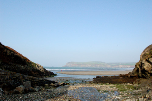 View of The Cwm, Newport Pembrokeshire.