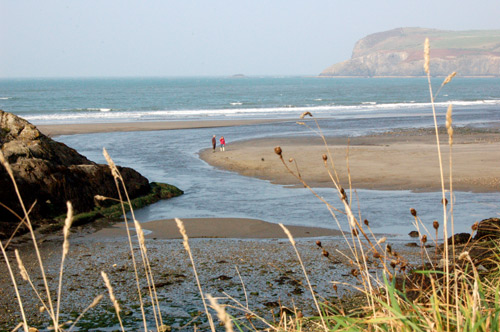 The Nevern Estuary at The Cwm, Newport Pembrokeshire