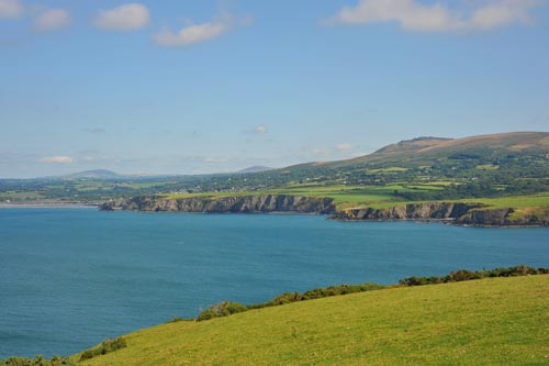 View of Newport Bay Dinas Island