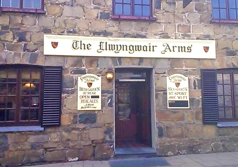 The Llwyngwair Arms