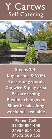 Y Cartws Self catering at Crosswell