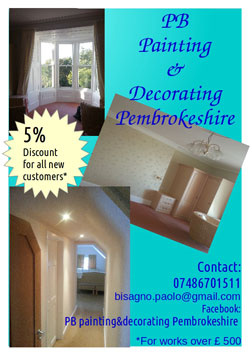 PB Painting & Decorating Pembrokeshire