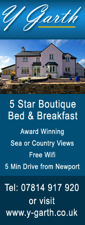 Y Garth Bed & //Breakfast Pembrokeshire